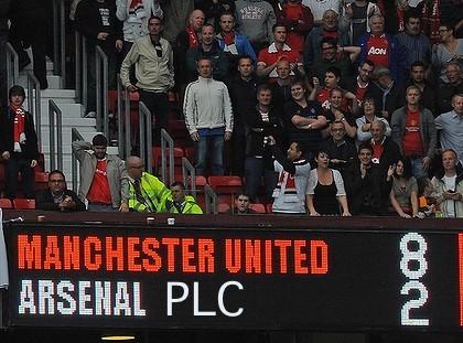 премьер-лига Англия, Арсенал, Манчестер Юнайтед